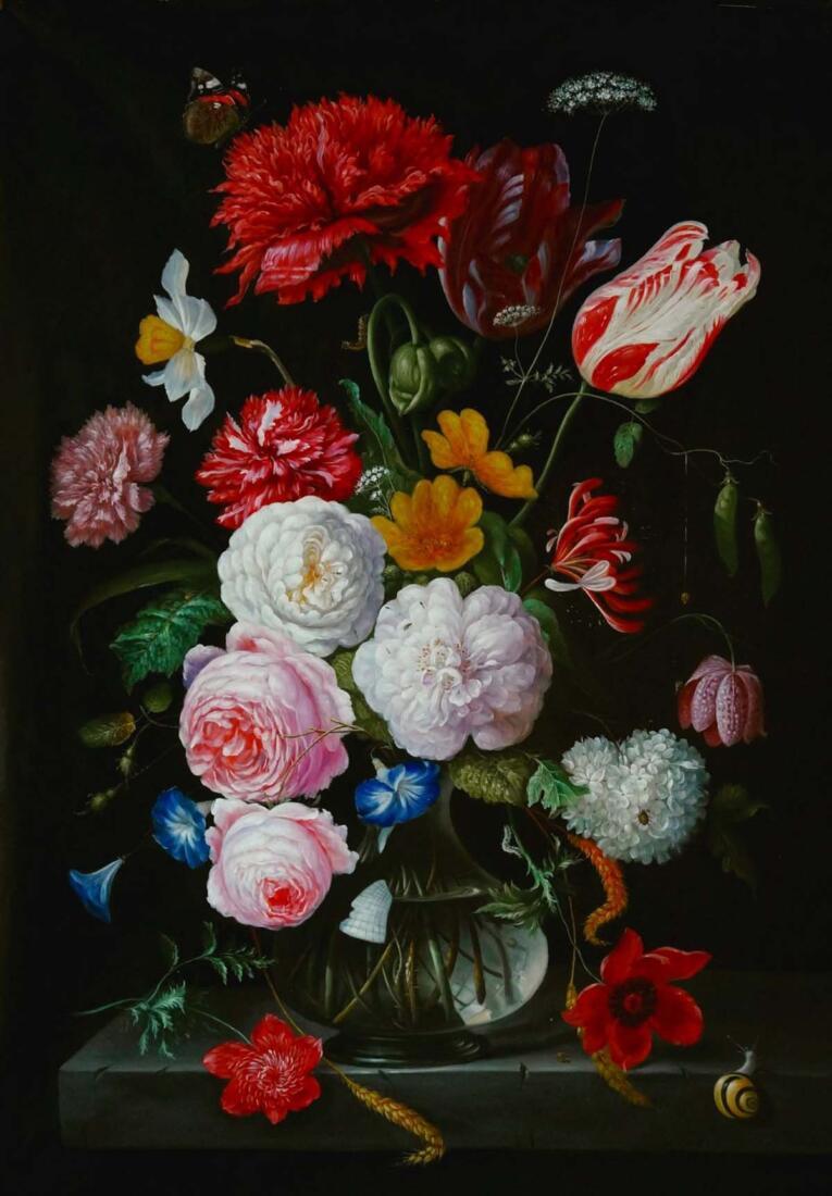 Jan Davidsz de heem schilderij