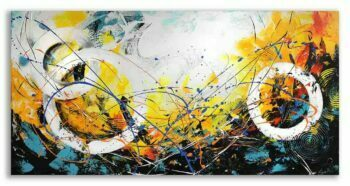 Abstract schilderij New Day II