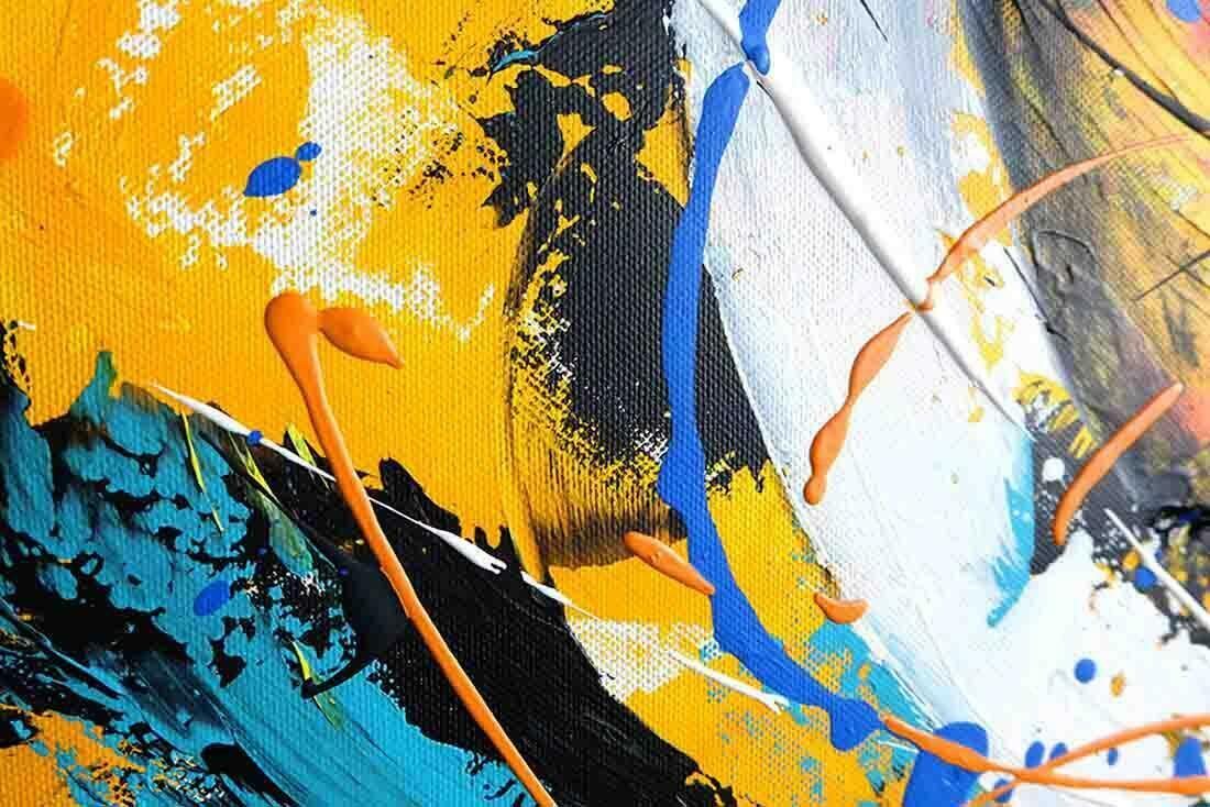 Abstract schilderij New Day II - Uitvergroting 2 van 3