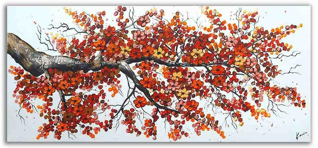 Bomen schilderij Herfst