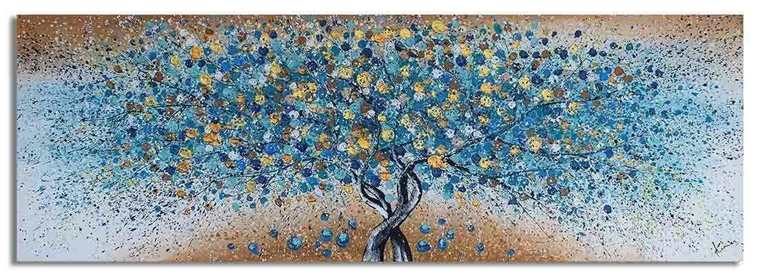 Boom schilderij Magic Nature Goud