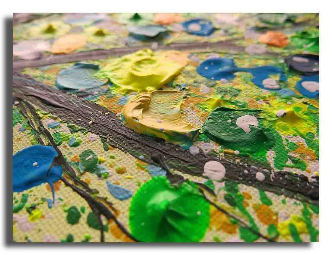 Boom schilderij Magic Nature Groen - Uitvergroting 2 van 2
