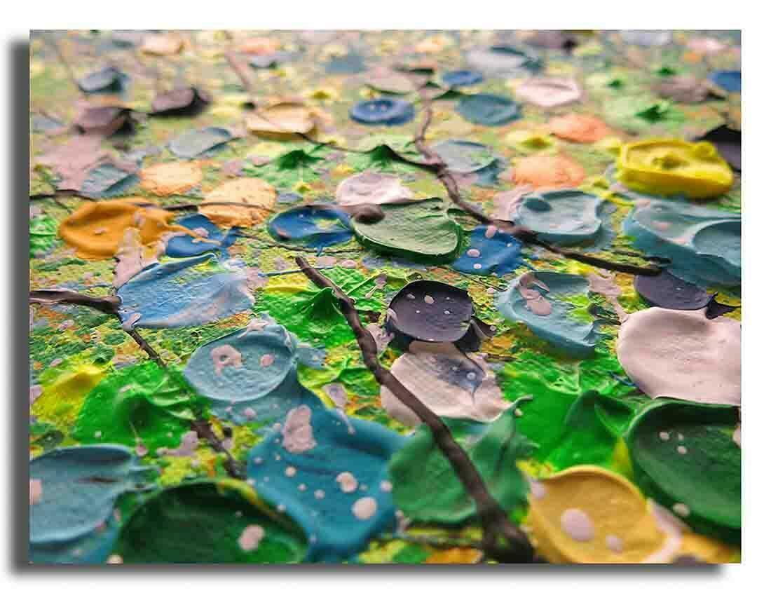 Boom schilderij Magic Nature Groen - Uitvergroting 1 van 2