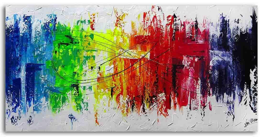 Modern schilderij kopen Dynamite