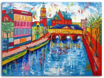 schilderij Leiden