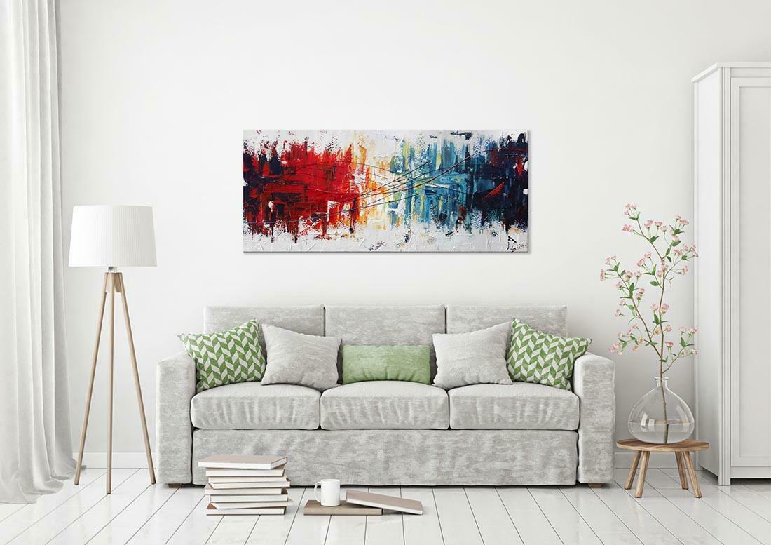 abstract schilderij interieur