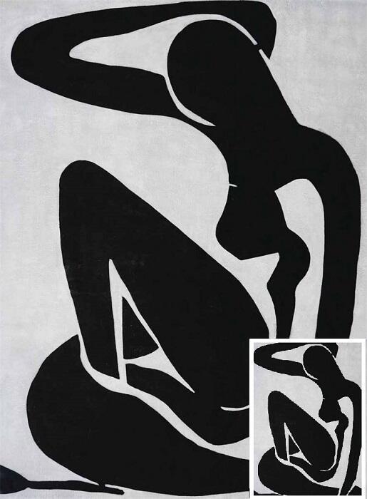 Kunst reproductie Henri Matisse blue nude