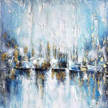 Abstract Magic Schilderij