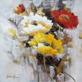 Bloemen schilderij Feeling Good