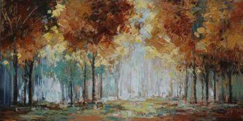 Modern bomen schilderij