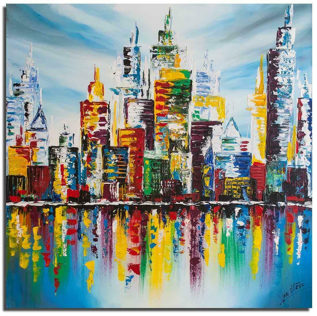 Skyline schilderij
