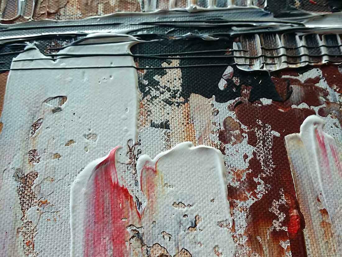 Skyline Rotterdam bruin - Uitvergroting 3/3