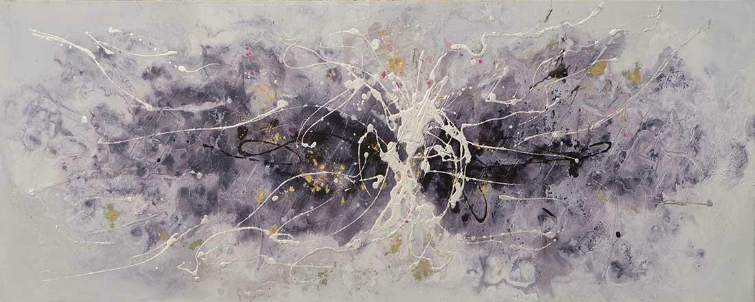 Wave of Abstract schilderij