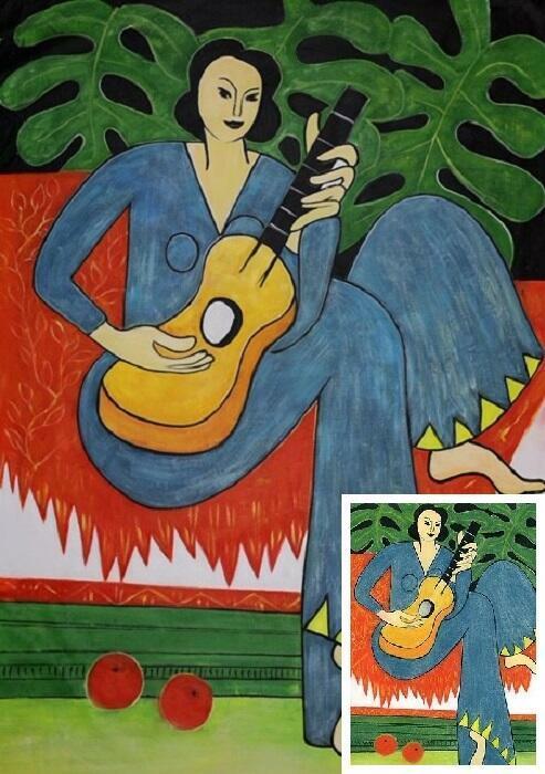 Matisse schilderij La Musique La Musica